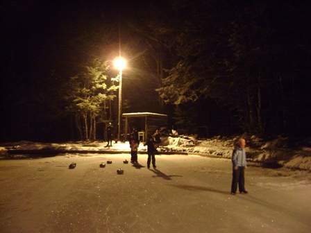 Evening ice skating and Curling at Forest Lodge -  Friday 6 July 2012