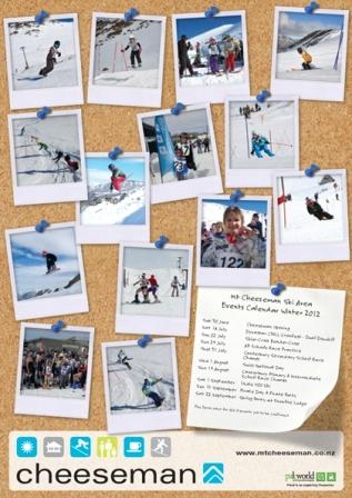 Events Calendar Poster